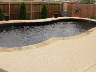 in ground pool designer dallas fort worth tx