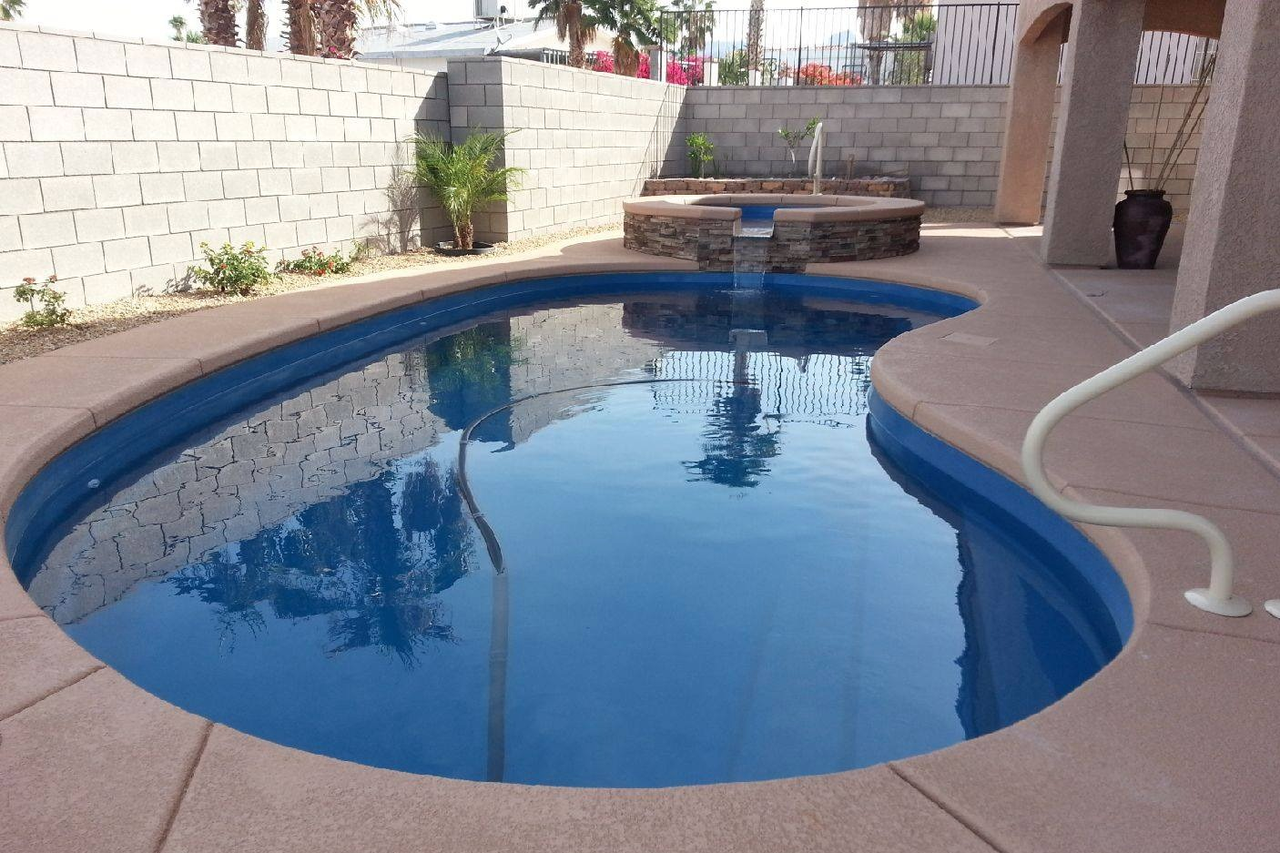 Inground pool installation fiberglass inground pools for Inground swimming pool installation